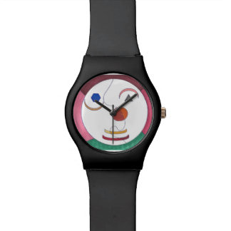 Abstract Face Watch