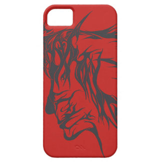 Abstract Facial Design (Case) iPhone 5 Covers