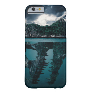 Abstract Fantasy Artistic Island Barely There iPhone 6 Case