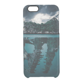 Abstract Fantasy Artistic Island Clear iPhone 6/6S Case