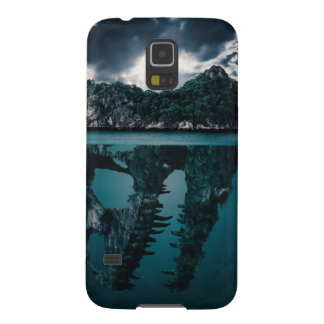 Abstract Fantasy Artistic Island Galaxy S5 Cases