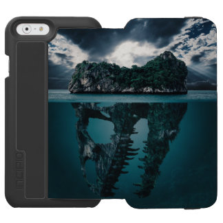Abstract Fantasy Artistic Island Incipio Watson™ iPhone 6 Wallet Case