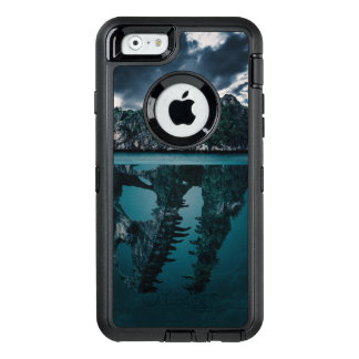 Abstract Fantasy Artistic Island OtterBox Defender iPhone Case