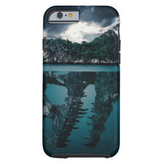 Abstract Fantasy Artistic Island Tough iPhone 6 Case