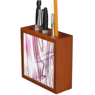 Abstract fantasy desk organizer