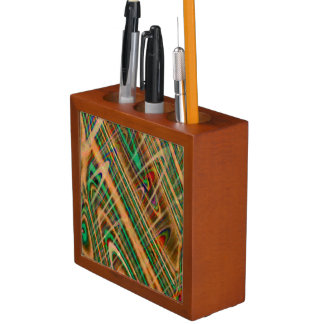 Abstract fantasy desk organizer