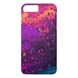 Abstract Fantasy Galaxy Sky Paint Splatter Art Case-Mate iPhone Case