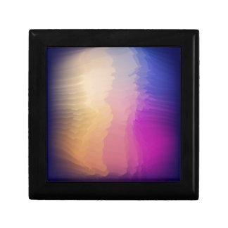 Abstract fantasy gift box