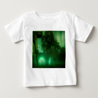 Abstract Fantasy Lime Dark House Baby T-Shirt