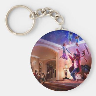 Abstract Fantasy Peter Pan Celebration Keychain