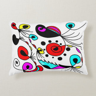 """""""Abstract Fantasy"""" Pillow by LI6 Unlimited"""