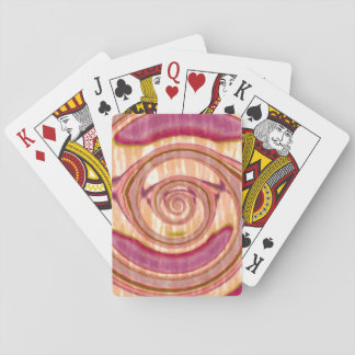 Abstract fantasy playing cards