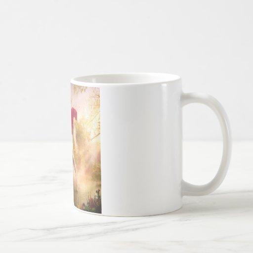 Abstract Fantasy Real Garden Of Eden Coffee Mugs