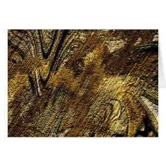 abstract fascination, olive card