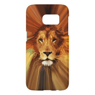 Abstract Fierce Lion Samsung Galaxy S7 Case