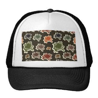 Abstract figures trucker hats