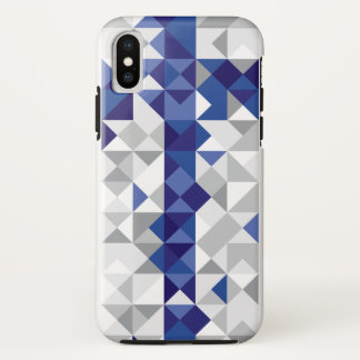 Abstract Finland Flag, Finnish Colors iPhone X Case
