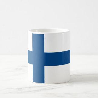 Abstract Finnish Flag Mug