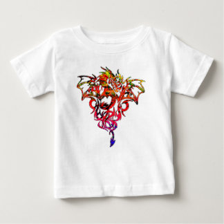 Abstract Fire Breathing Tribal Dragon Baby T-Shirt