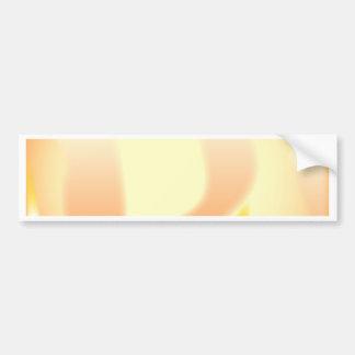 Abstract Fire Bumper Sticker