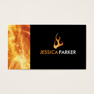 Abstract - Fire Business Card