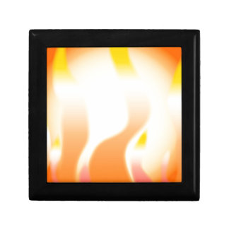Abstract Fire Gift Box
