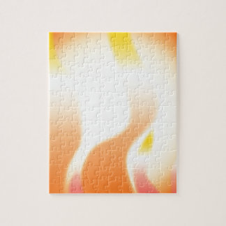 Abstract Fire Jigsaw Puzzle
