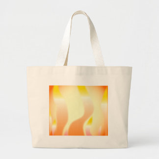 Abstract Fire Large Tote Bag