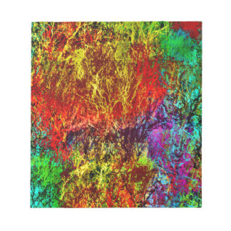 Abstract Fire Notepad