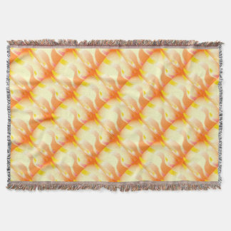 Abstract Fire Throw Blanket