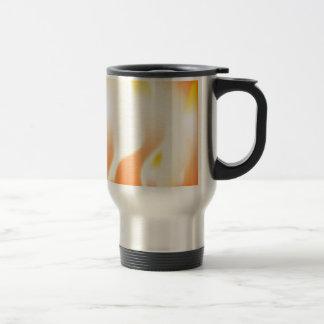 Abstract Fire Travel Mug