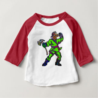 Abstract Firemen Baby T-Shirt