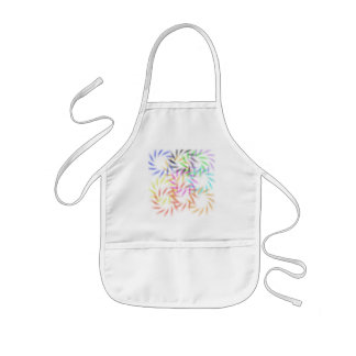 Abstract Fireworks Kids Apron