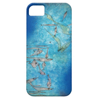 Abstract Fish by Paul Klee Case For The iPhone 5