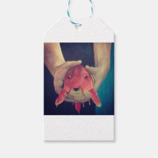 Abstract Fish Gift Tags