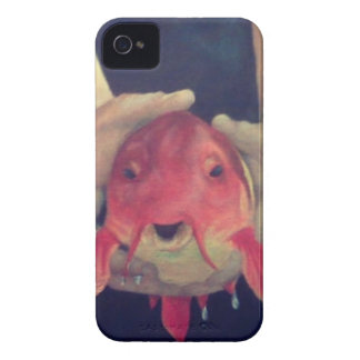 Abstract Fish iPhone 4 Case