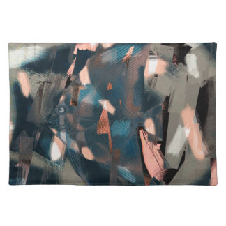 Abstract Fish with Overbite Place Mat