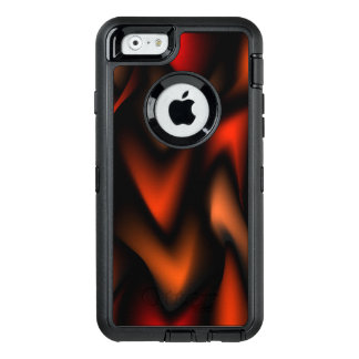 Abstract Flames OtterBox Defender iPhone Case