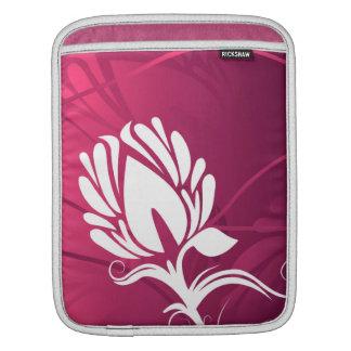 Abstract Floral Art Nouveau Design iPad Sleeve