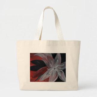 Abstract Floral Jumbo Tote Bag