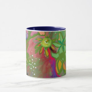 Abstract Floral Bouquet Mug