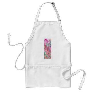 Abstract Floral Canvas Standard Apron