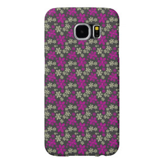 Abstract Floral Chevron Pattern Samsung Galaxy S6 Cases