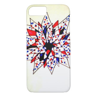 Abstract Floral Design iPhone 7 Case