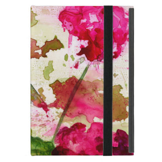 abstract floral ipad mini case