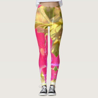 Abstract Floral Leggings