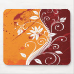 Abstract Floral Mousepad Mouse Pads
