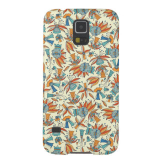 Abstract floral pattern design galaxy s5 case