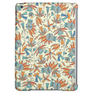 Abstract floral pattern design iPad air cover