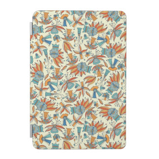 Abstract floral pattern design iPad mini cover